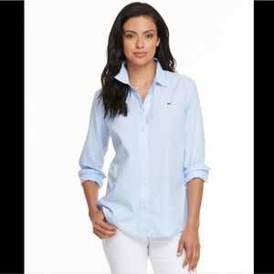 VINEYARD VINES OXFORD SHIRT IN BLUE